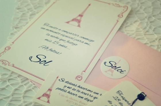 Tarjeta de 15 Paris 2
