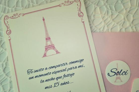 Tarjeta de 15 Paris 4