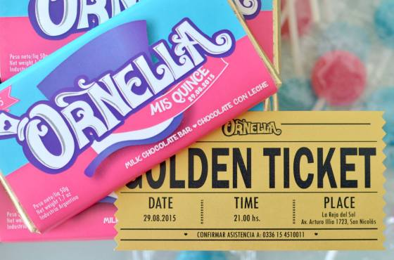 Invitación Willy Wonka