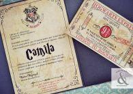 Tarjeta de 15 Harry Potter 1