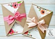 Tarjeta de 15 floral Argentina